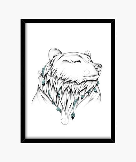Cuadro oso poético