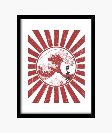Cuadro Otaku flag
