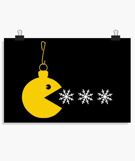 Poster palla di Natale pac