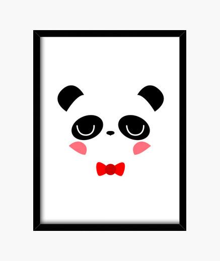Cuadro Panda chico