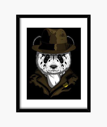 Cuadro Panda Rorschach