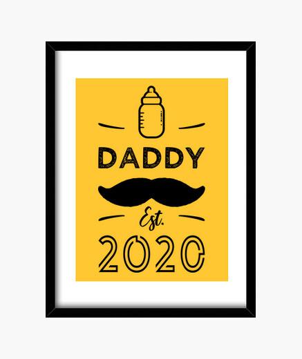Quadro papà è il 2020