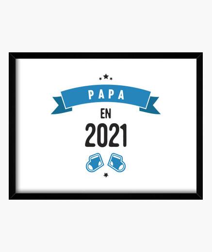 Quadro papà nel 2021