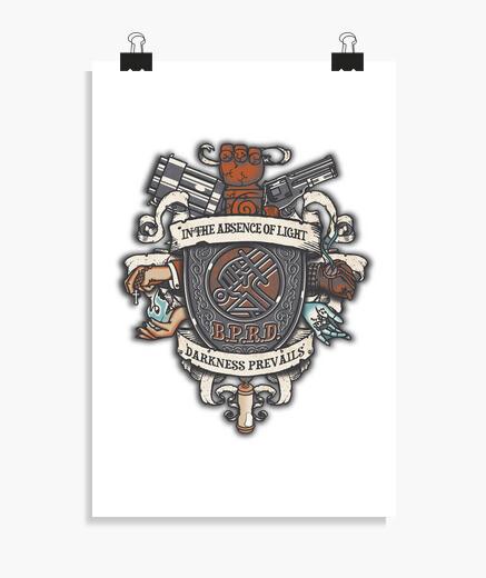 Poster paranormal bureau crête