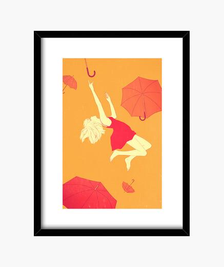 Cadre parapluies volants