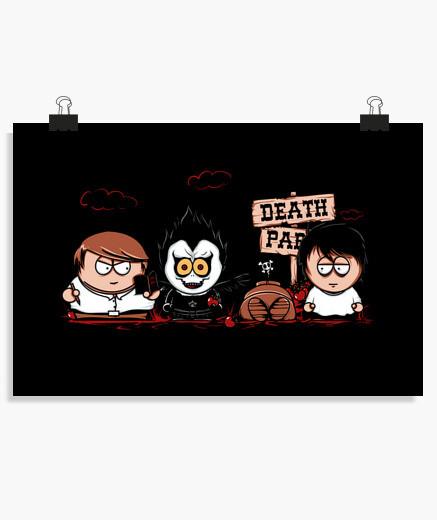 Póster parque de la muerte