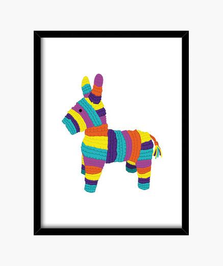 Cuadro Piñata