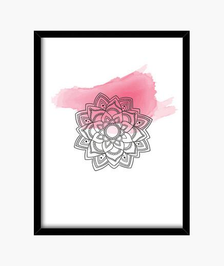 Cuadro Pink mandala