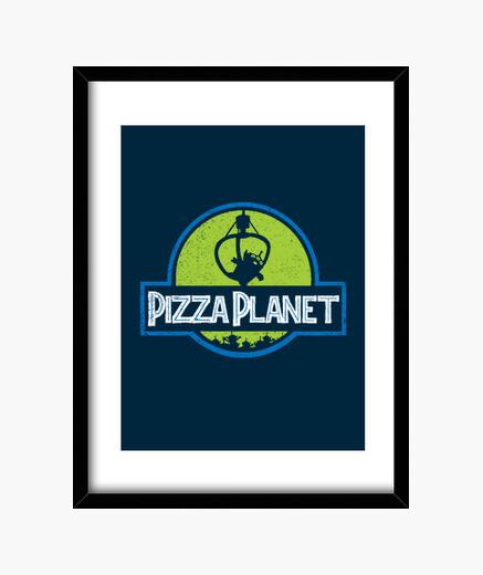 Quadro planet pizza