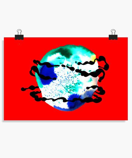 Poster planète