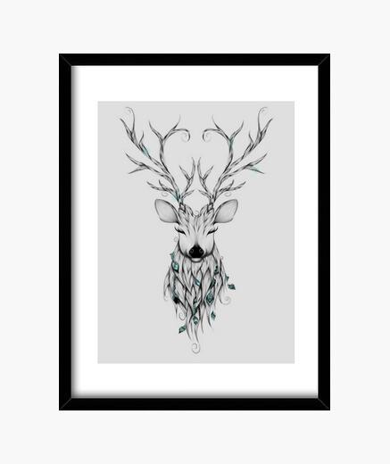 Cuadro Poetic Deer