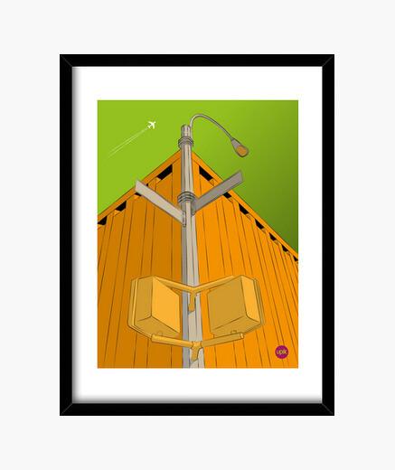 Cuadro Poster Advocado Sky. Elige de qué tamaño lo quieres