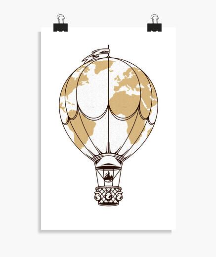 Poster air ball oon world adventure