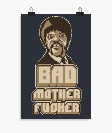 Póster Bad Mother Fucker
