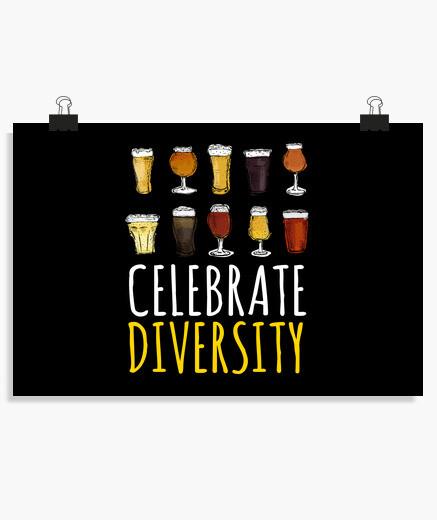 Póster celebrar la fiesta de la cerveza...