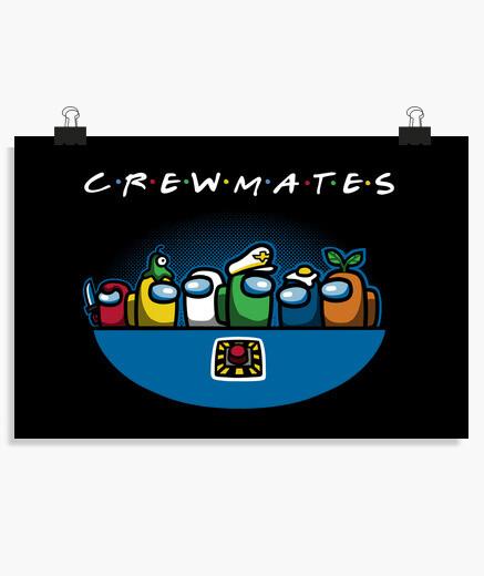 Póster Crewmates