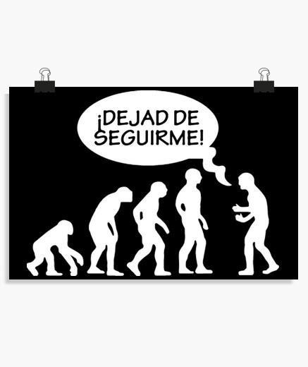 Póster Evolución Friki