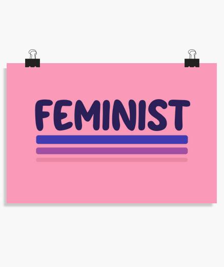 Póster feminista