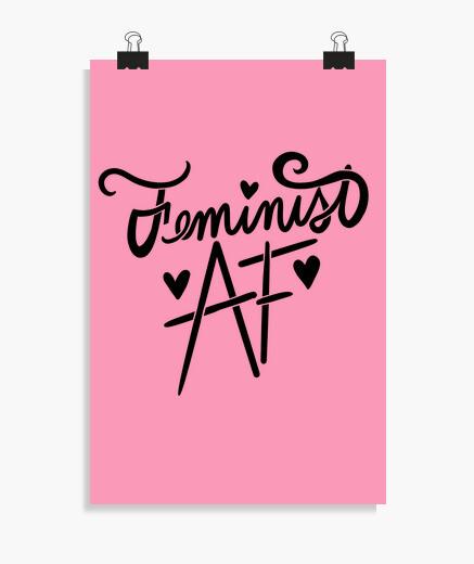Póster feminista af