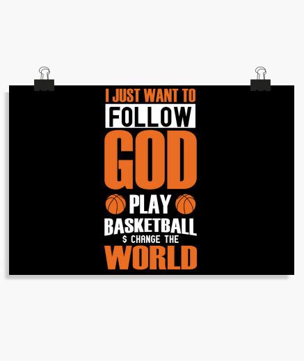 Poster gioca a basket e cambia il mondo