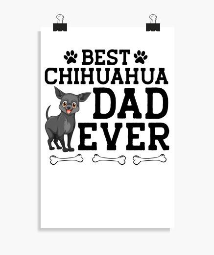 Poster il miglior papà chihuahua di sempre