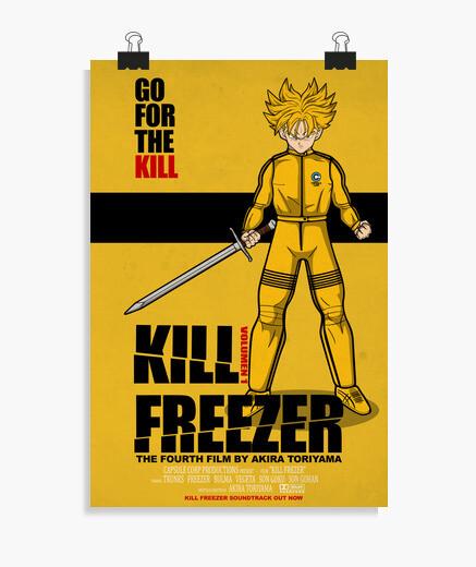 Póster Kill Freezer Poster