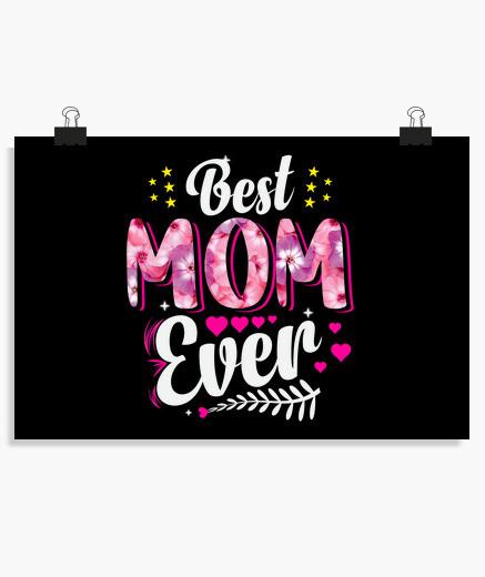 Poster la migliore mamma di sempre