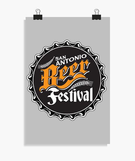 Póster San ANtonio Beer Festival