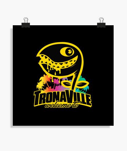 Póster Tronaville