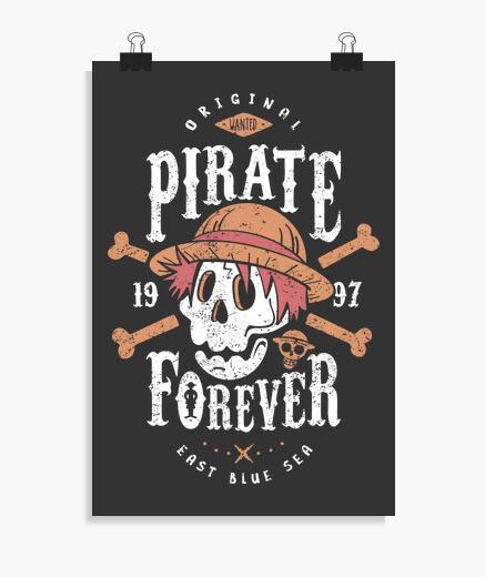 Poster voulait pirate pour toujours