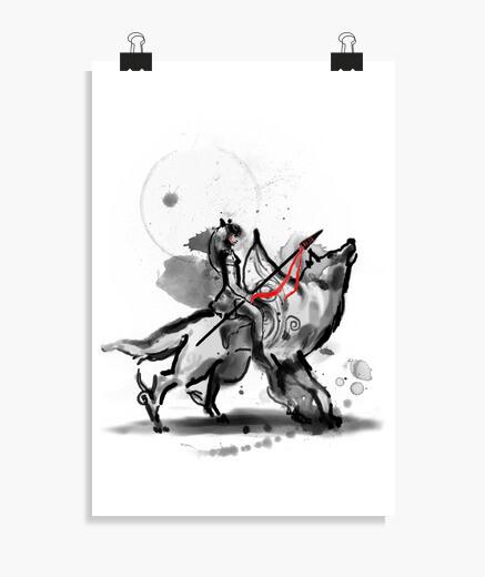 Poster princess monokami