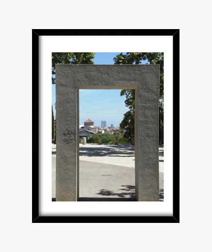 Cuadro Puerta de piedra