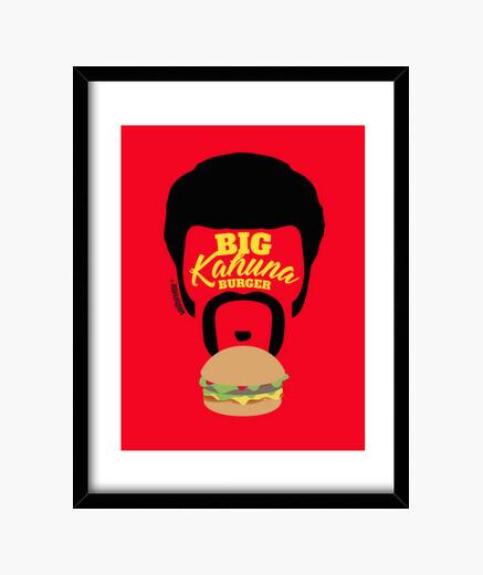Cuadro Pulp Fiction - Big Kahuna Burger
