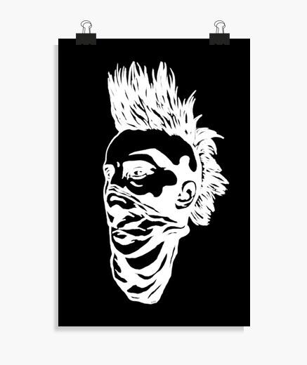 Póster punk boy reverse