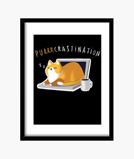 Cuadro Purcrastination print