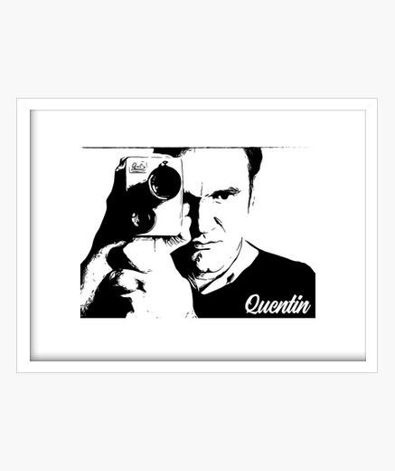 Cuadro Quentin Tarantino