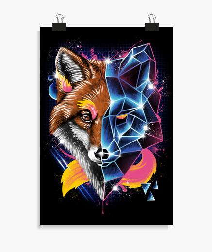 Póster rad fox