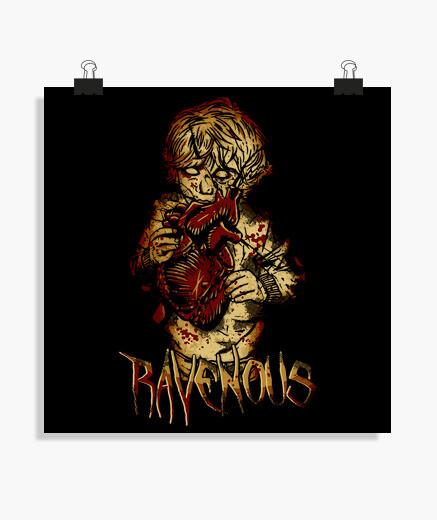 Poster Ravenous zombi kid