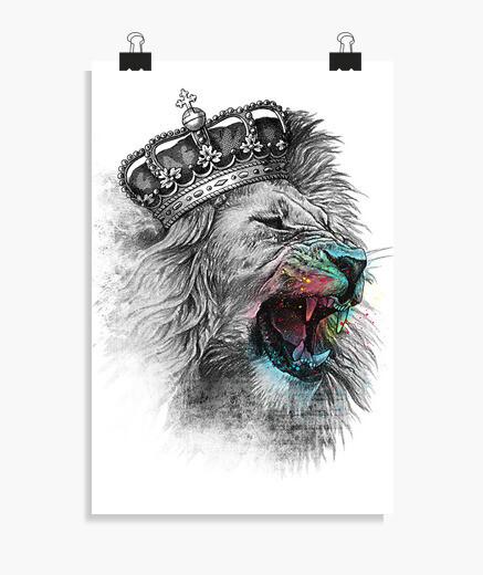 Poster re Leone