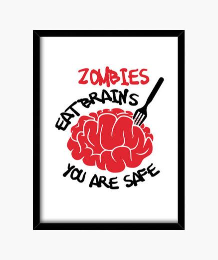 Cadre régime de zombies