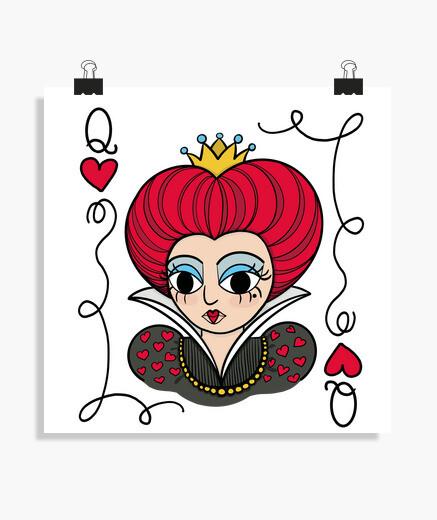 Poster regina del cuore one s