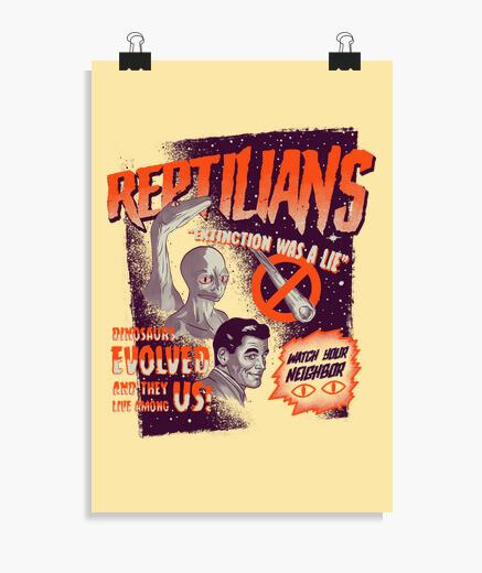 Poster rettili