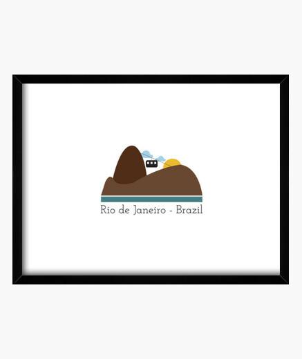 Cuadro rio de janeiro, brasil
