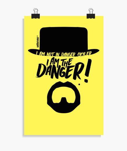 Poster rompere male - io sono il pericolo