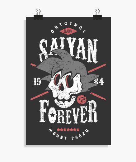 Póster Saiyan Forever