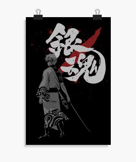 Poster sakata gintoki
