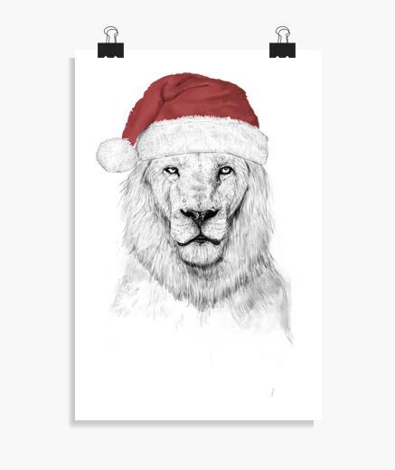 Poster santa leonee