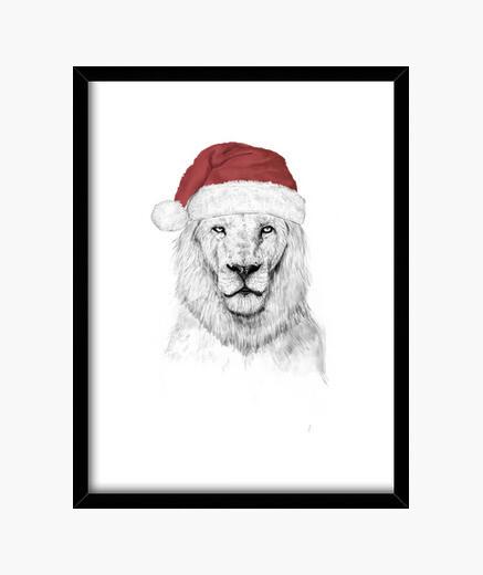 Cuadro Santa lion