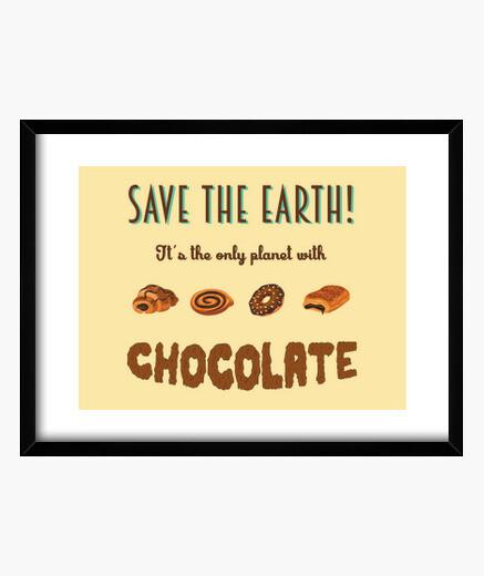 Cuadro Save the Earth!
