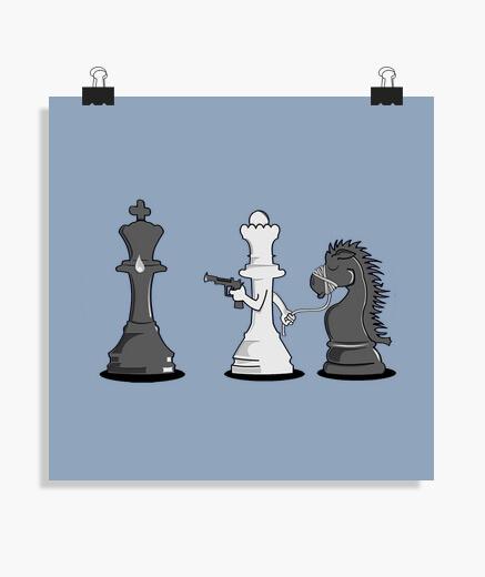 Poster scacco matto